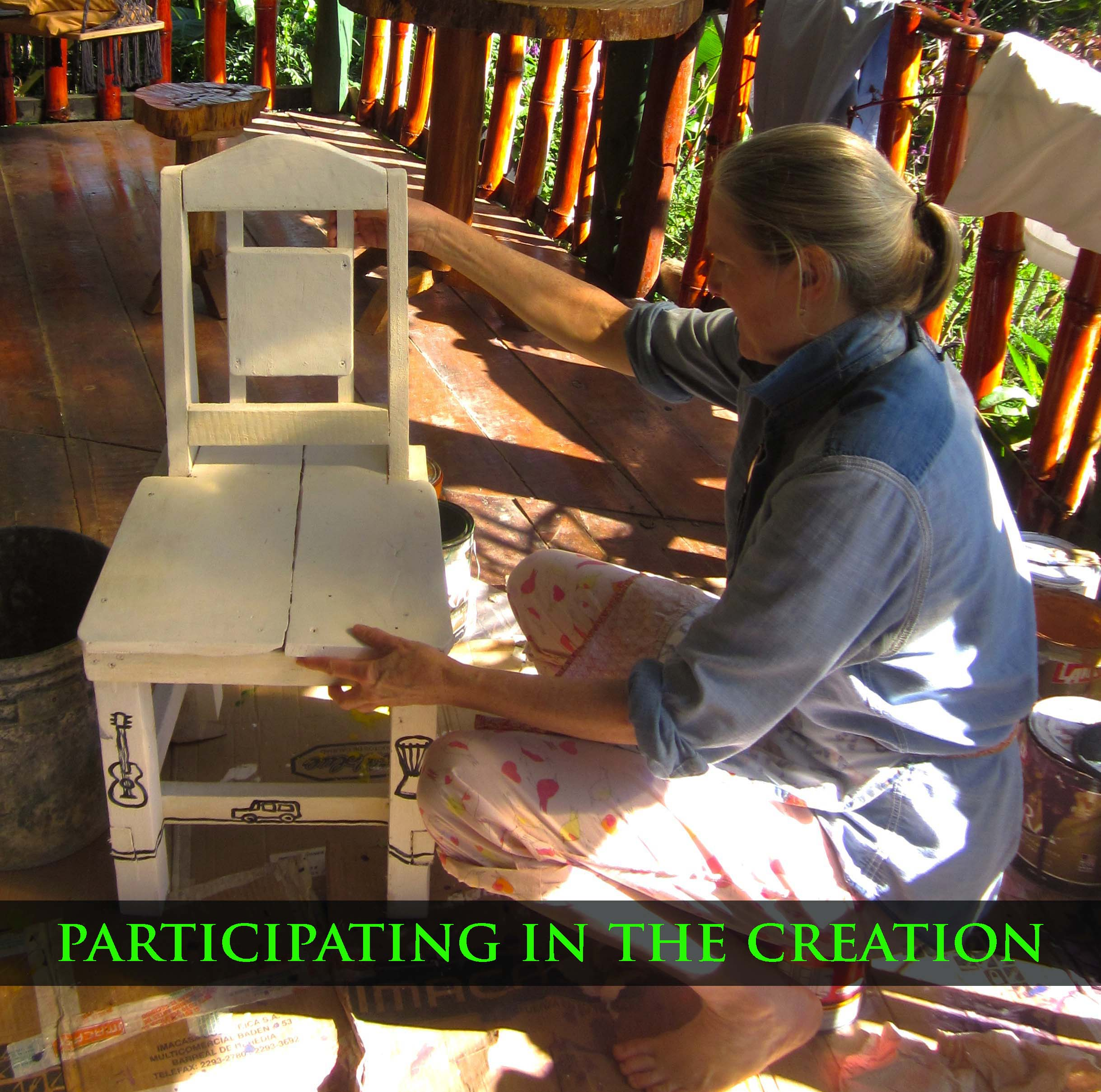 participating in the creation